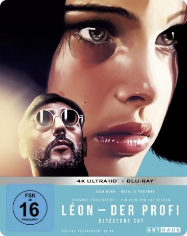 Léon - Der Profi - 4K Ultra HD Blu-ray + Blu-ray / Limited 25th Anniversary Steelbook Edition (4K Ultra HD)
