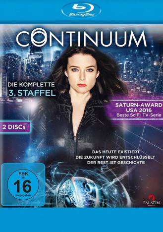 Continuum - Staffel 03 (Blu-ray)