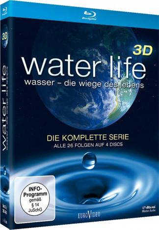 Water Life 3D - Die Wiege des Lebens - Die komplette Serie / Blu-ray 3D + 2D (Blu-ray)