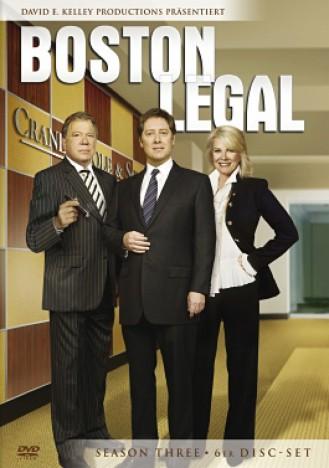 Boston Legal - Season 3 (DVD)