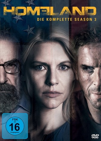 Homeland - Staffel 03 (DVD)