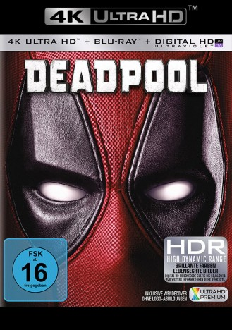 Deadpool - 4K Ultra HD Blu-ray + Blu-ray (Ultra HD Blu-ray)