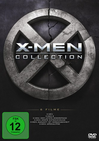 X-Men - 1-6 Collection (DVD)