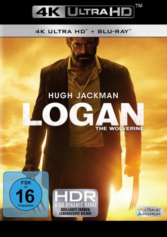 Logan - The Wolverine - 4K Ultra HD Blu-ray + Blu-ray (4K Ultra HD)