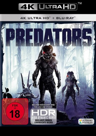 Predators - 4K Ultra HD Blu-ray + Blu-ray (4K Ultra HD)