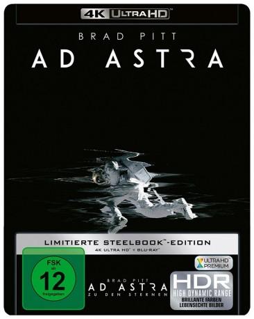 Ad Astra - Zu den Sternen - 4K Ultra HD Blu-ray + Blu-ray / Limited Steelbook (4K Ultra HD)