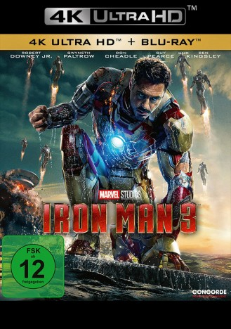 Iron Man 3 - 4K Ultra HD Blu-ray + Blu-ray (4K Ultra HD)