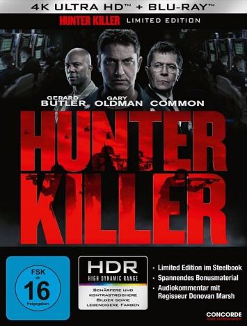 Hunter Killer - 4K Ultra HD Blu-ray + Blu-ray / Limited Steelbook (4K Ultra HD)