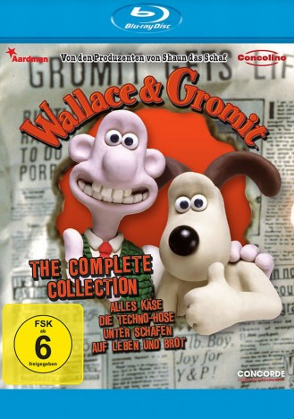 Wallace & Gromit - The Complete Collection (Blu-ray)