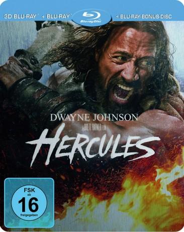 Hercules - Blu-ray 3D + 2D / Limited Steelbook (Blu-ray)