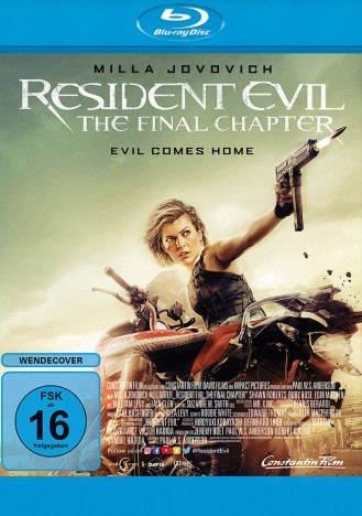 Resident Evil - The Final Chapter (Blu-ray)