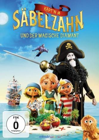 Käpt'n Säbelzahn und der magische Diamant (DVD)