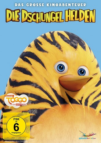 Die Dschungelhelden - Das grosse Kinoabenteuer - 3. Auflage (DVD)