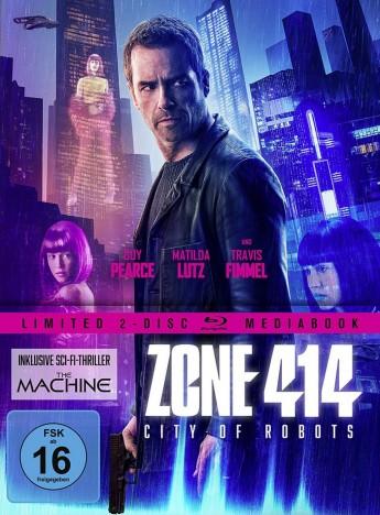 Zone 414 - City of Robots - Limited Mediabook (Blu-ray)