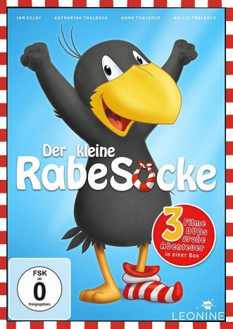 Der kleine Rabe Socke 1-3 (DVD)