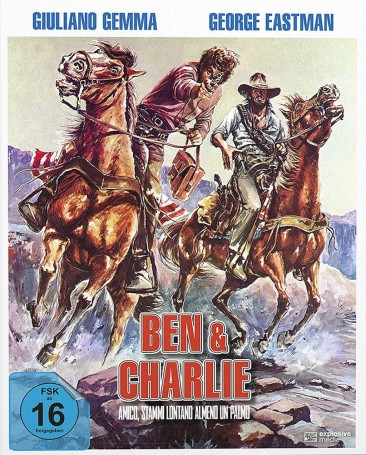 Ben & Charlie - Limited Mediabook / Cover B (Blu-ray)