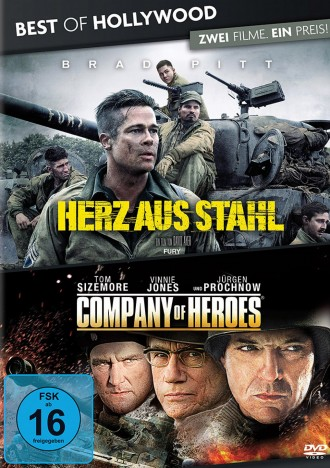 Herz Aus Stahl Company Of Heroes Best Of Hollywood 2 Movie Collector S Pack Dvd