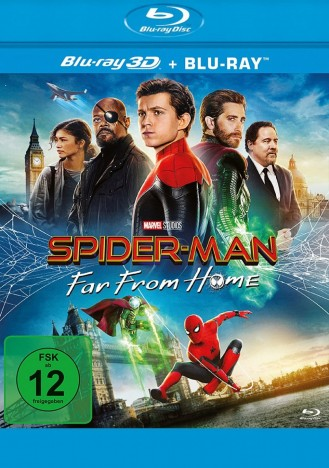 Spider-Man: Far From Home - Blu-ray 3D + 2D (Blu-ray)
