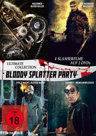 Bloody Splatter Party - Ultimate Collection (DVD)