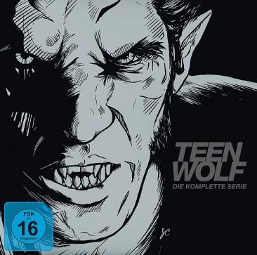 Teen Wolf - Staffel 1-6 / Limited Book-Edition (Blu-ray)