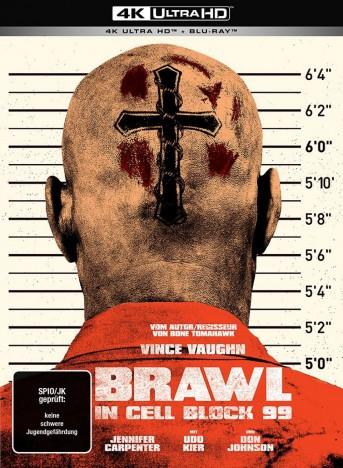Brawl in Cell Block 99 - 4K Ultra HD Blu-ray + Blu-ray / Limited Collector's Mediabook / Uncut (4K Ultra HD)