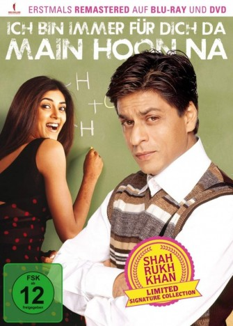 Main Hoon Na - Ich bin immer für Dich da! - Shah Rukh Khan Signature Collection (Blu-ray)