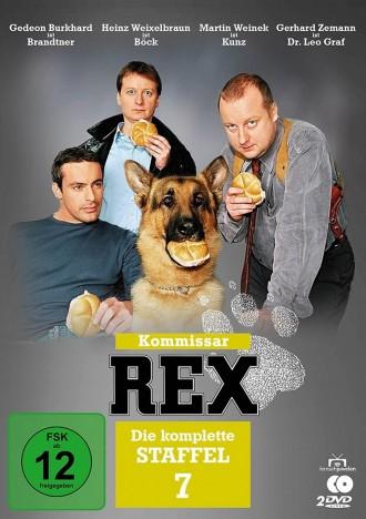 Kommissar Rex - Staffel 07 (DVD)
