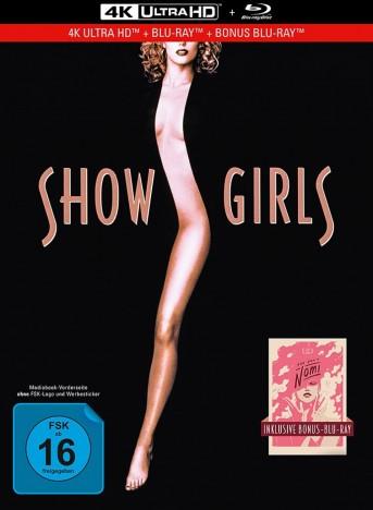 Showgirls - 4K Ultra HD Blu-ray + Blu-ray / Limited Collector's Edition / Mediabook (4K Ultra HD)