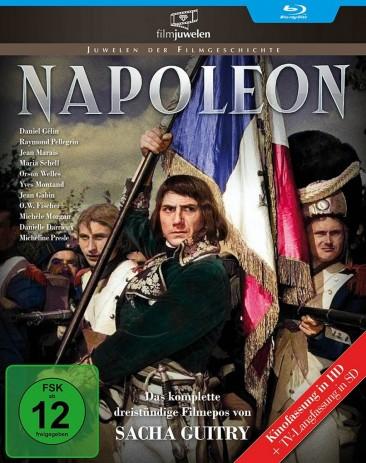 Napoleon - Das legendäre Drei-Stunden-Epos / TV-Langfassung + Kinofassung (Blu-ray)