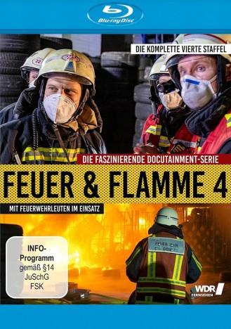 Feuer & Flamme - Mit Feuerwehrmännern im Einsatz - Staffel 04 (Blu-ray)