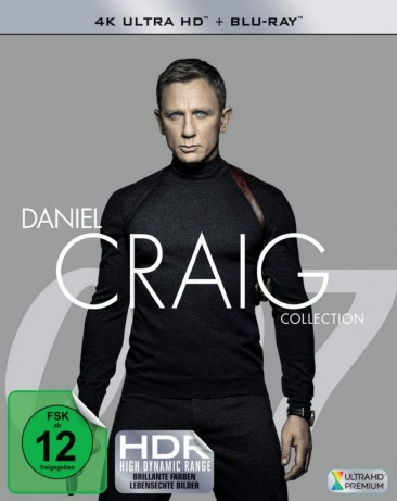 James Bond: Daniel Craig Collection - 4K Ultra HD Blu-ray + Blu-ray (Blu-ray)