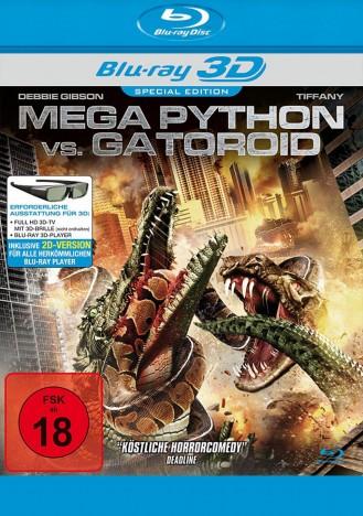 Mega Python vs. Gatoroid - Blu-ray 3D + 2D (Blu-ray)