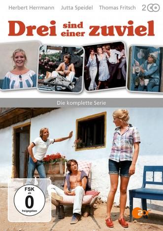 Drei sind einer zuviel - Die komplette Serie (DVD)