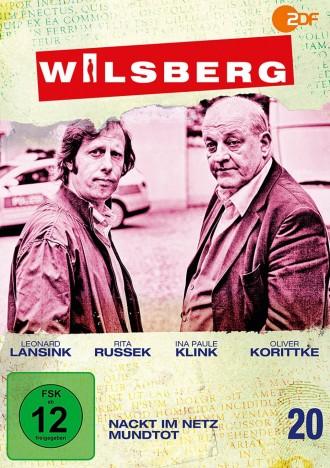Wilsberg - Vol. 20 / Nackt im Netz & Mundtot (DVD)