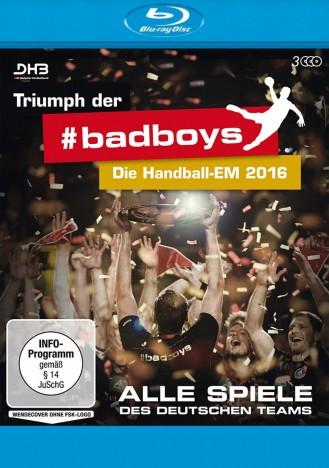 Triumph der Badboys - Die Handball-EM 2016 - Alle Spiele des deutschen Teams (Blu-ray)