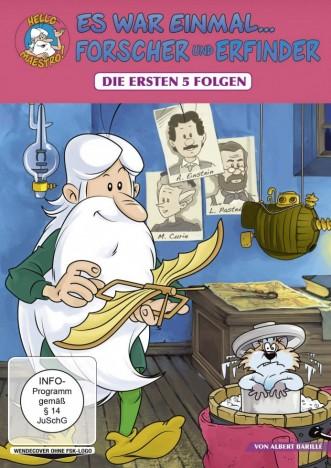 Es war einmal... Forscher und Erfinder - Folge 1-5 (DVD)
