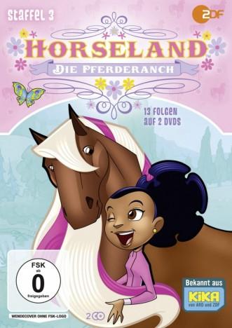Horseland - Die Pferderanch - Staffel 3 (DVD)