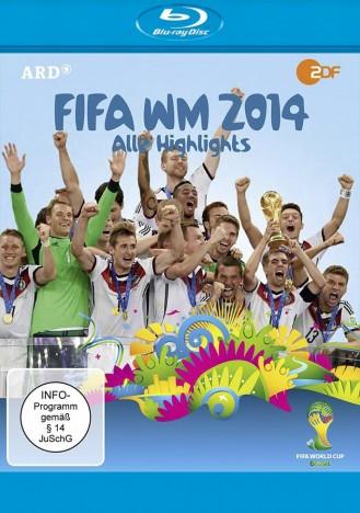 FIFA WM 2014 - Alle Highlights - 2. Auflage (Blu-ray)