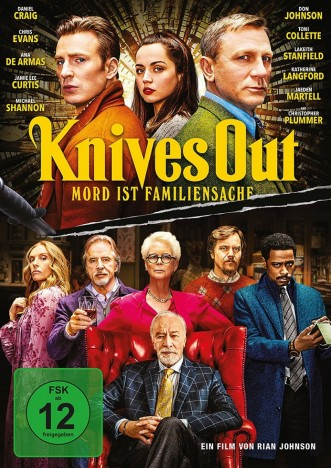 Knives Out - Mord ist Familensache (DVD)