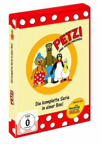 Petzi und seine Freunde - Die komplette Serie (DVD)