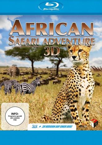African Safari Adventure 3D - Blu-ray 3D (Blu-ray)