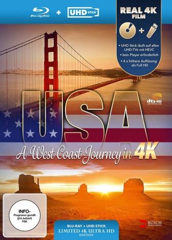 USA - A West Coast Journey - Blu-ray + UHD Stick in Real 4K (Blu-ray)