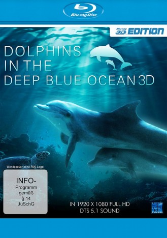 Dolphins In The Deep Blue Ocean 3D - Blu-ray 3D (Blu-ray)
