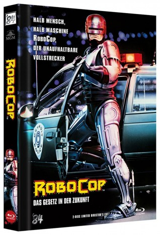 RoboCop - Limited Director's Cut / Cover A (Blu-ray)