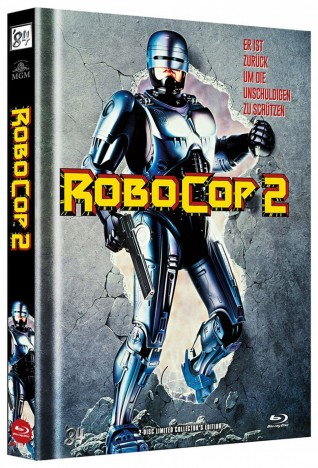 RoboCop 2 - Limited Collector's Edition / Cover A (Blu-ray)