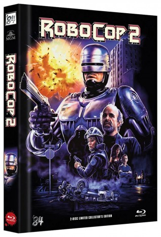 RoboCop 2 - Limited Collector's Edition / Cover C (Blu-ray)