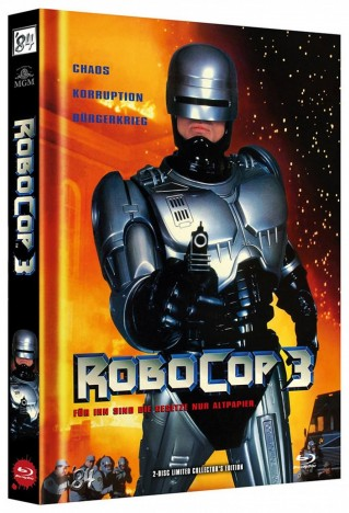 RoboCop 3 - Limited Collector's Edition / Cover A (Blu-ray)