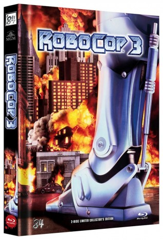RoboCop 3 - Limited Collector's Edition / Cover B (Blu-ray)