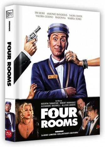 Four Rooms - Limited Collector's Edition (Blu-ray)