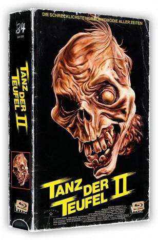Tanz der Teufel 2 - VHS-Box / 4K Ultra HD Blu-ray + Blu-ray / Cover B (4K Ultra HD)